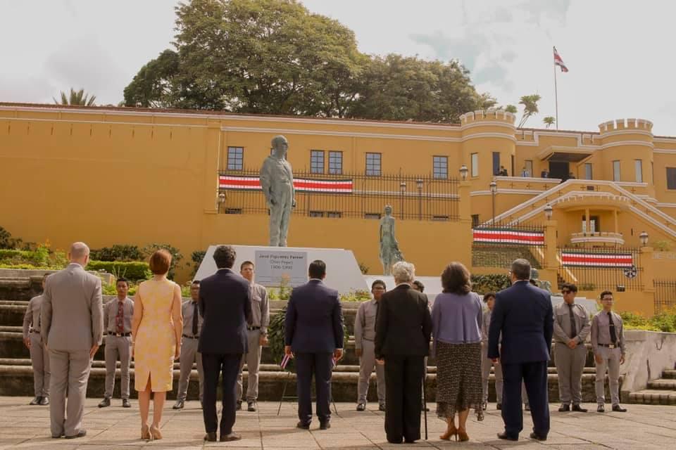 Foto: Presidencia de la República de Costa Rica