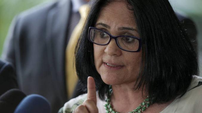 Damares Alves, ministra de la Mujer y la Familia de Brasil. Foto de archivo
