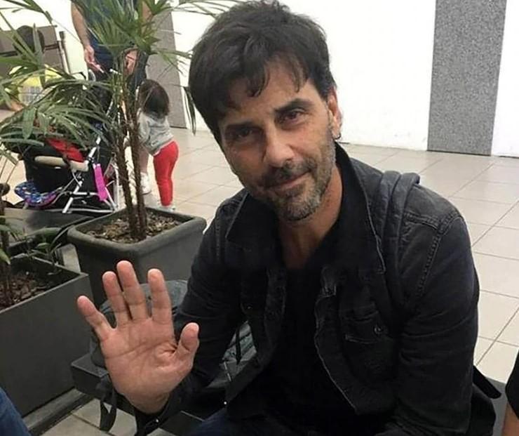 Juan Darthés was seen from Argentina at Rosario airport
