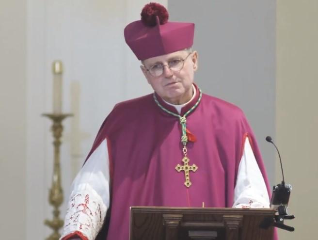 Obispo Donald Sanborn. Foro: Wikimedia Commons