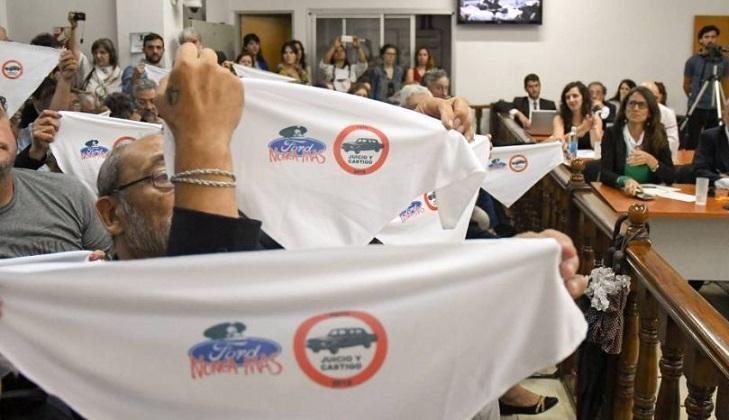 Condenaron a exdirectivos de Ford por delitos de lesa humanidad durante la dictadura.