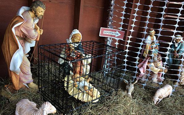 jesus jaula nacimiento