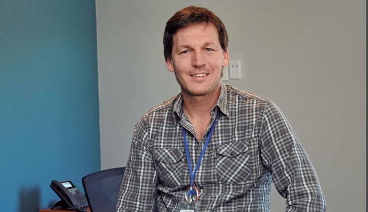 Gerente de Marketing de Ta-Ta, Agustín Lambert. Foto: Somos Uruguay.