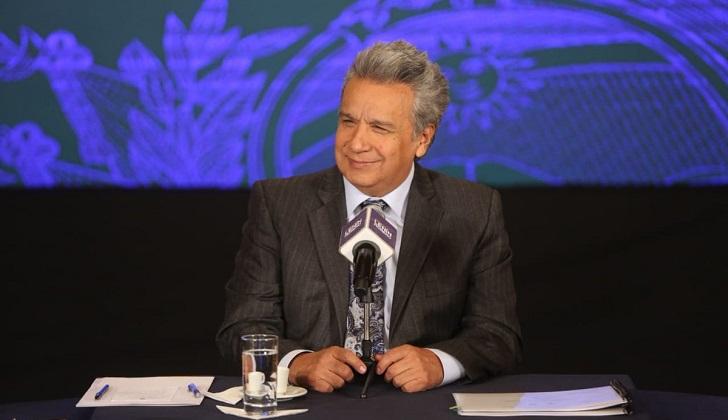 """Lenín Moreno: """"Está hecho el camino para que Assange tome la decisión de salir a una casi libertad""""."""