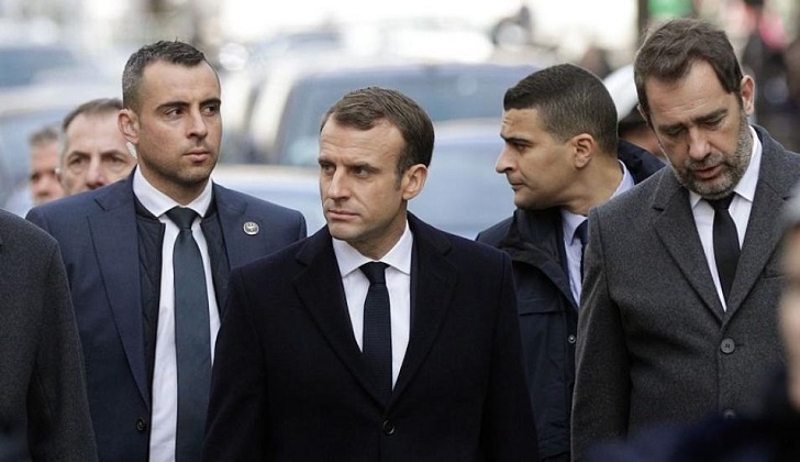 Macron regresó a París y abrió consultas antes de responder a los chalecos amarillos