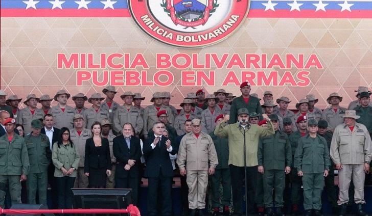 """Maduro a Duque: """"Tú eres responsable si algún día Colombia agrede militarmente a Venezuela""""."""