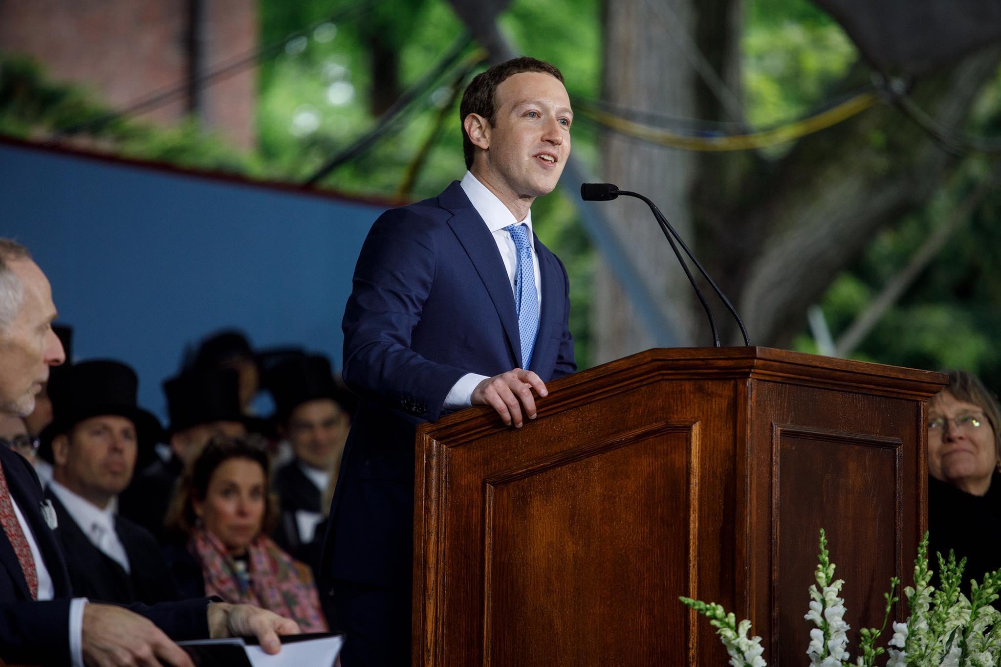 Mark Zuckerberg, fundador y CEO de Facebook. Foto. Facebook/zuck