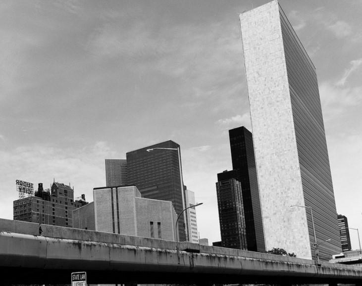 Sede de la ONU en Nueva York. Foto: Flickr / Zack Korb
