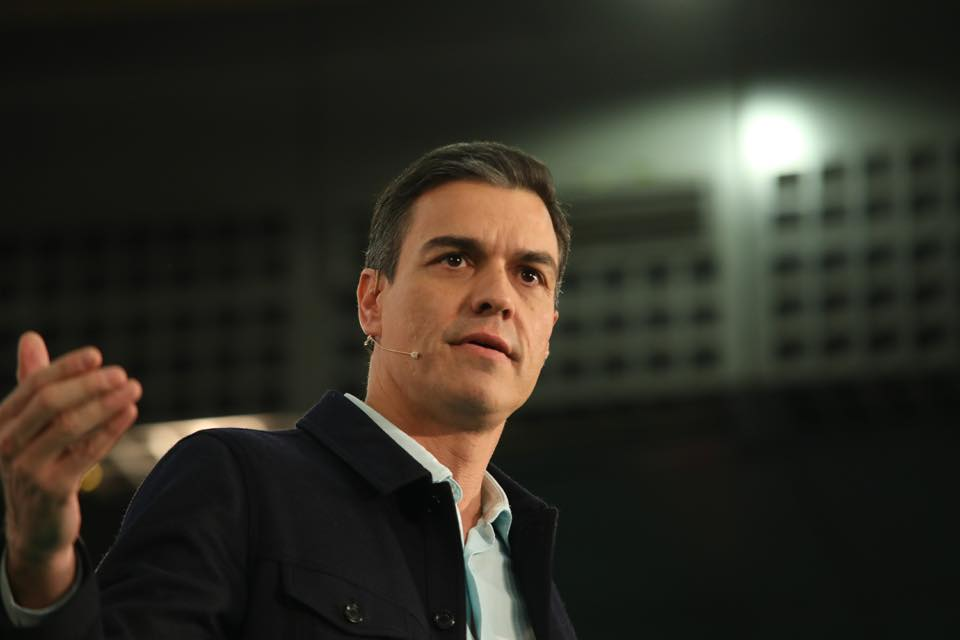 Pedro Sánchez, presidente de España. Foto: Facebook