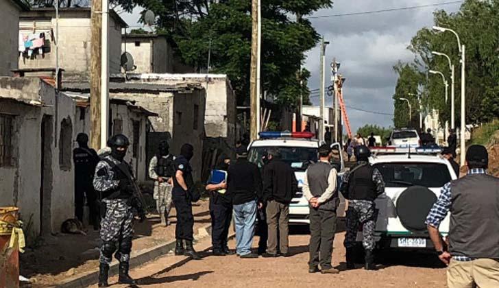 Operativo en Los Palomares de Unidad Misiones. Foto: Ministerio del Interior.