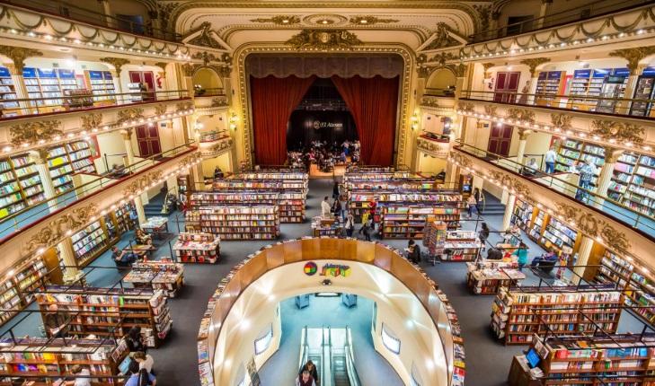 La librería Ateneo Grand Splendid de Buenos Aires es la más linda para National Geographic.