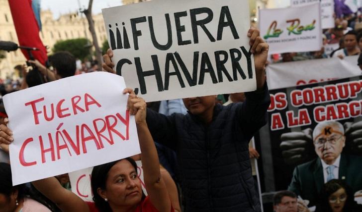 La nueva fiscal general de Perú declara en emergencia el Ministerio Público.