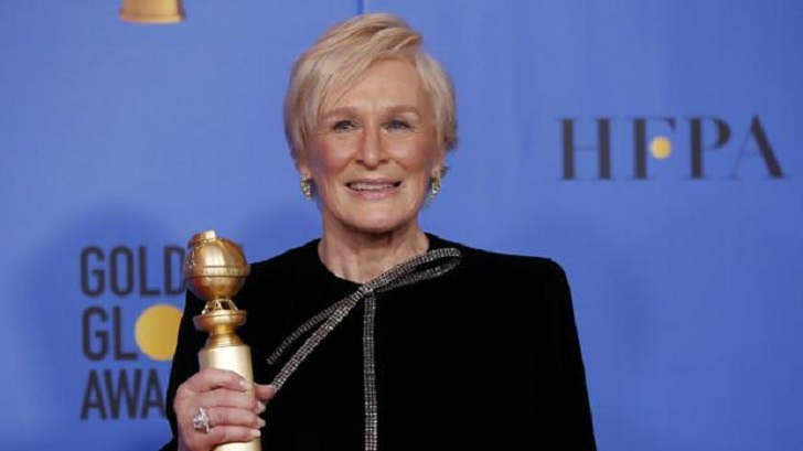 Glenn Close's feminist discourse in the Golden Globe: