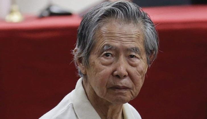 Justicia de Perú da plazo de 48 horas para definir cárcel donde irá Alberto Fujimori.