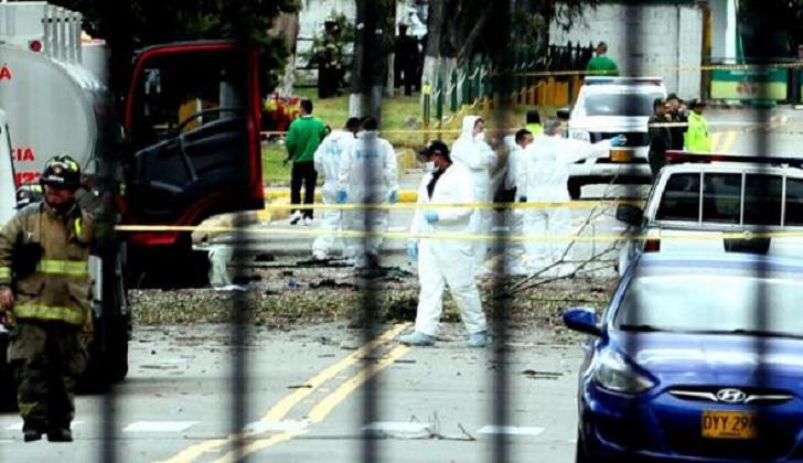 ELN admite responsabilidad en el atentado de Bogotá.