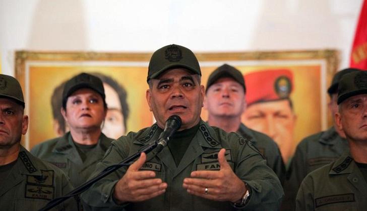 Detienen en Venezuela a un grupo de militares sublevados contra el gobierno de Maduro.