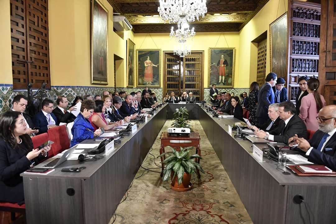 Representantes del Grupo de Lima. Foto: Cancillería de Costa Rica