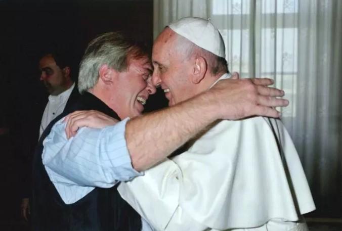 Gustavo Vera visita frecuentemente a Roma y es recibido por su amigo el Papa en El Vaticano
