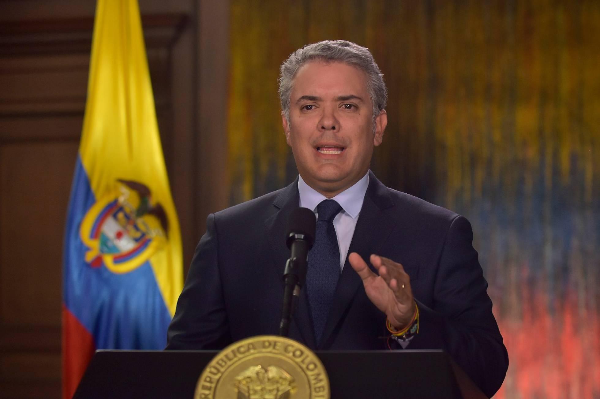 Iván Duque, presidente de Colombia. Foto: Presidencia de Colombia.