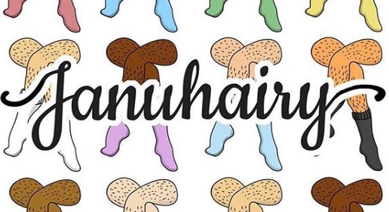 Januhairy, un proyecto británico que invita a las mujeres a no depilarse