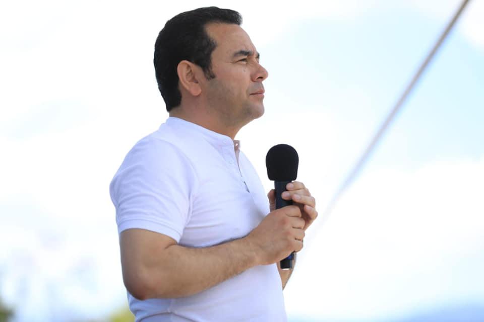 Jimmy Morales, presidente de Guatemala. Foto de archivo