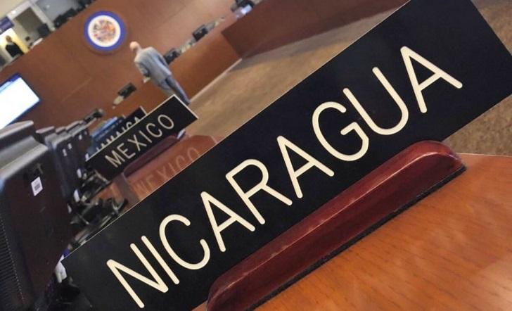 OEA activa Carta Democrática contra Nicaragua .