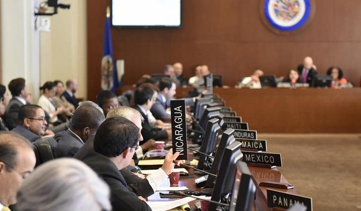 La OEA convoca sesiones extraordinarias por Venezuela y Nicaragua