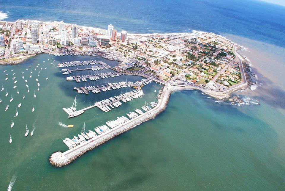 Vista aérea de Punta del Este. Foto: MINTUR