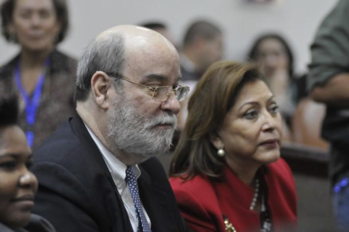 Rafael Solís Cerda ha sido un magistrado orteguista y sandinista. Foto cortesía de La Prensa de Nicaragua