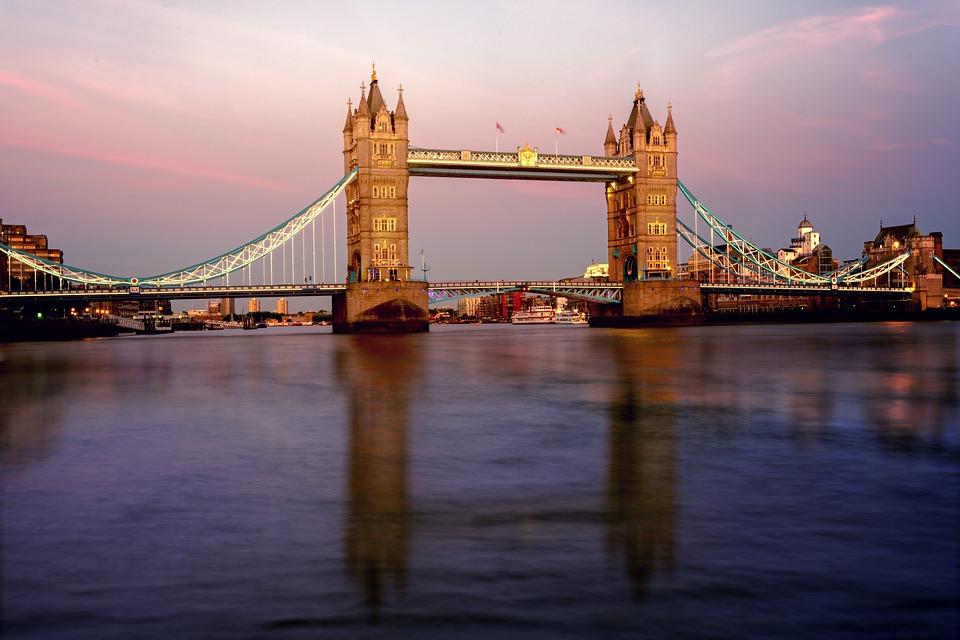 Río Támesis, que atraviesa Londres. Foto: Pixabay