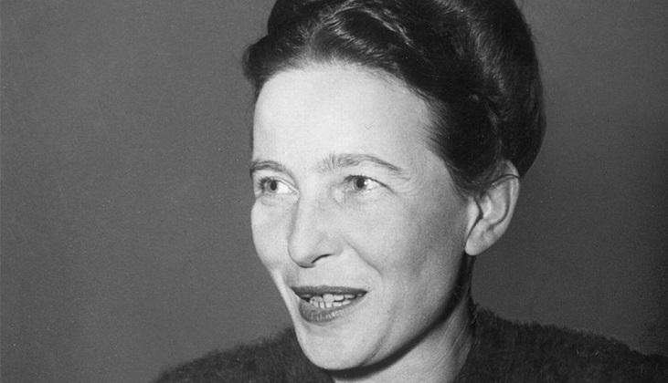 Se cumplen 111 años del nacimiento de Simone de Beauvoir  .
