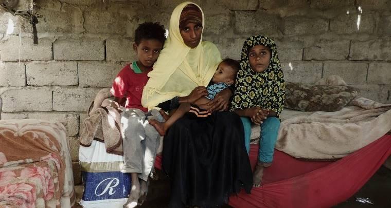 En Yemen, 462.000 niños menores de cinco años sufren de desnutrición aguda grave potencialmente mortal. Foto: actionagainsthunger.org.uk