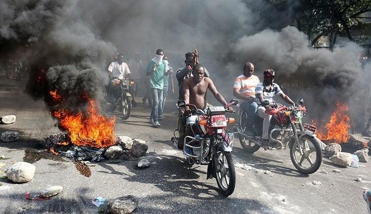 Emergencia económica y protestas antigubernamentales en Haití.