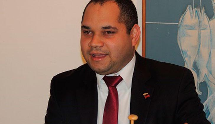 Embajador de Venezuela en Uruguay, Julio Chirino.