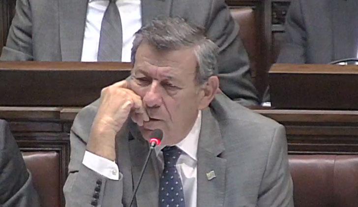 El canciller Nin Novoa compareció ante la Comisión Permanente del Parlamento.
