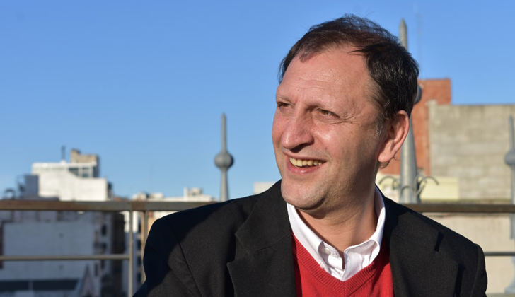 Director nacional de Cultura, Sergio Mautone. Foto: LARED21.