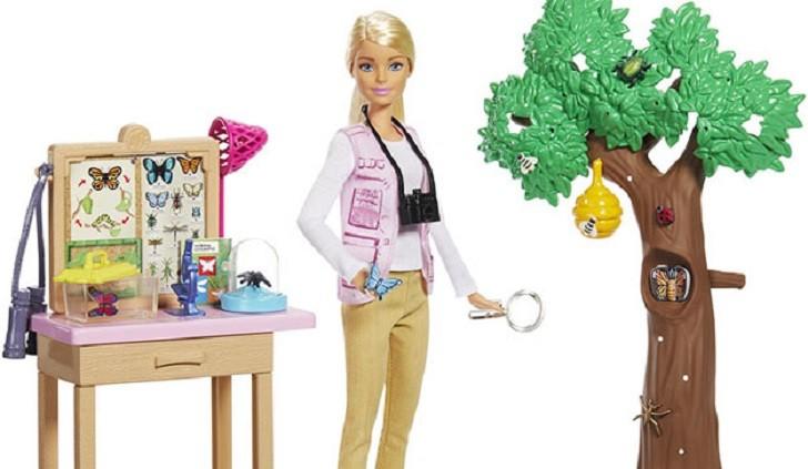 Barbie y National Geographic se unen para inspirar e impulsar nuevas profesiones