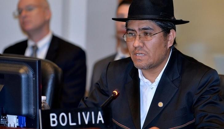 """Bolivia: """"En vez de enviar ayuda humanitaria, EEUU levante bloqueo económico a Venezuela"""""""
