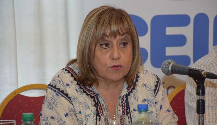 Irupé Buzzetti, directora general  del Consejo de Educación Inicial y Primaria. Foto: CEIP.