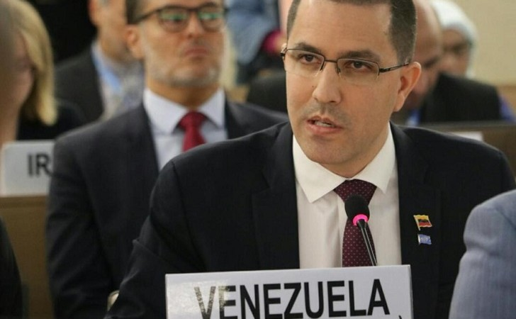 """Canciller venezolano: """"¿Cuándo se ha preocupado EE.UU. sobre Haití, que está a pocas millas de su costa?""""."""
