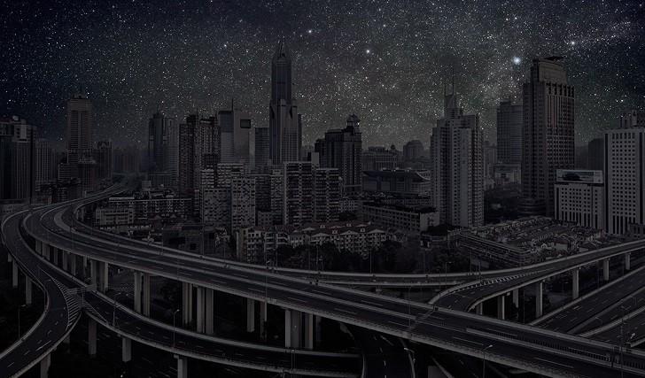 ¿Cómo se verían las ciudades del mundo sin contaminación lumínica?