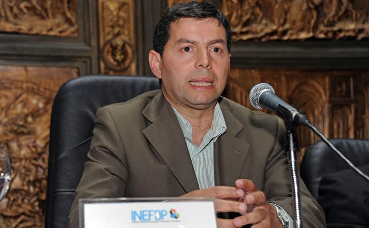 Director nacional de Empleo y Presidente del Instituto Nacional de Empleo y Formación Profesional (INEFOP), Eduardo Pereyra.
