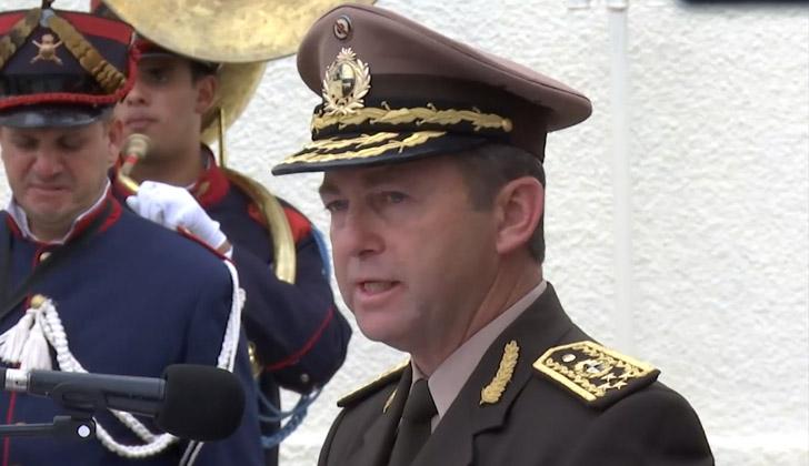 Jefe del Estado Mayor de la Defensa (ESMADE), general, Alfredo Erramún.