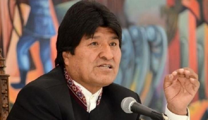 """Evo Morales:  """"No podemos ser responsables de una guerra entre hermanos""""."""
