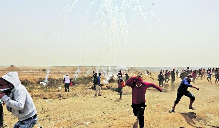 La ONU cree que ataques de Israel a marchas en Gaza pueden constituir crímenes de guerra