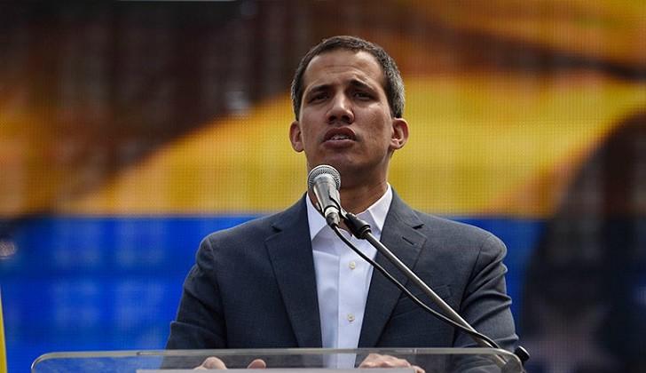 Guaidó no descarta autorizar intervención de EE.UU. en Venezuela.