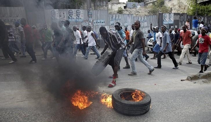 Protestas antigubernamentales sacuden a Haití por sexto día.
