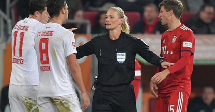 Irán canceló la transmisión de un partido de la Bundesliga porque había una mujer arbitrando