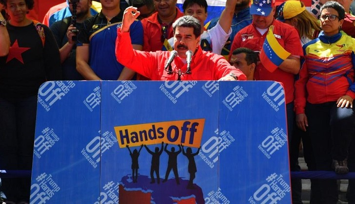 """Maduro: """"He decidido romper relaciones con Colombia""""."""