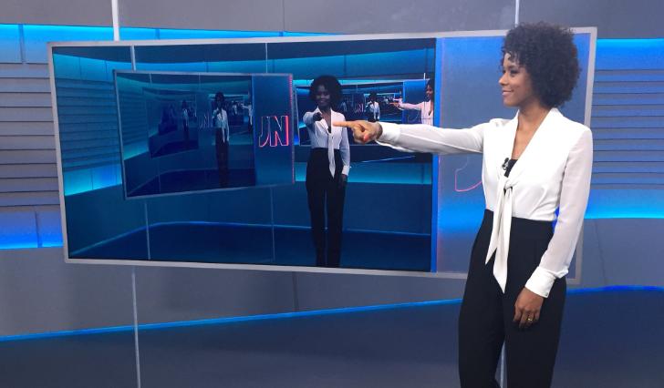 Por primera vez en 50 años una mujer negra presenta el principal noticiero de Brasil.